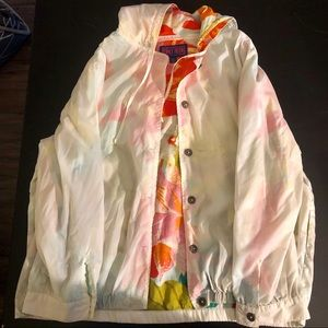 Colorful Vintage Wind Breaker